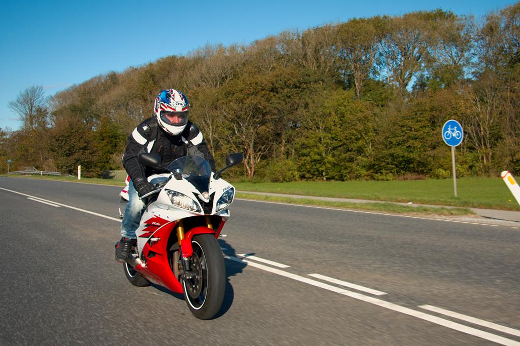 Motorcykel en gang til
