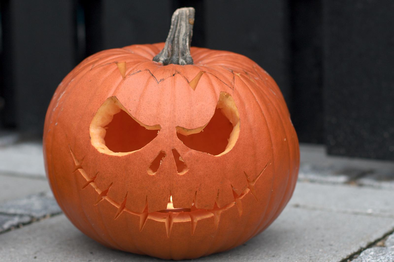 Pumpkin Jack i dagslys