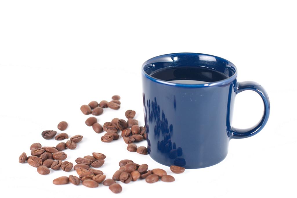 Kaffepause - mit første microstockbillede.