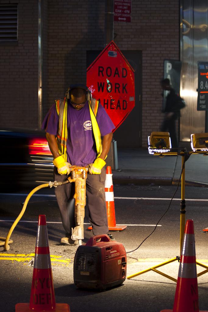 Streetfoto i New Yorks gader